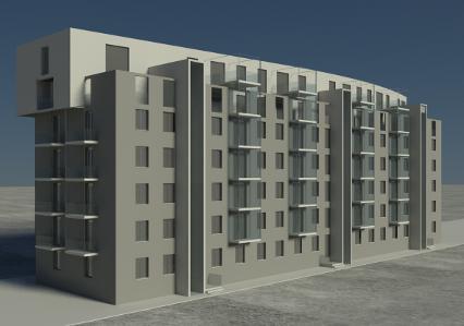 Studio carla colombo residenziale edifici residenziali for Piani di costruzione di edifici residenziali in metallo