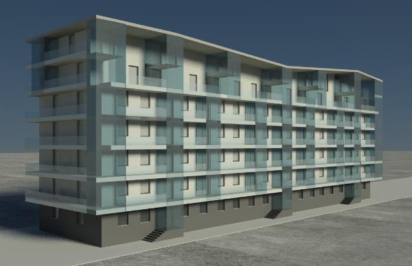 Studio carla colombo residenziale edifici residenziali for Progettazione di piani abitativi residenziali