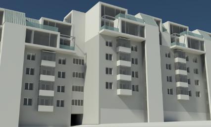 Studio carla colombo residenziale edifici residenziali for Progettazione di edifici residenziali